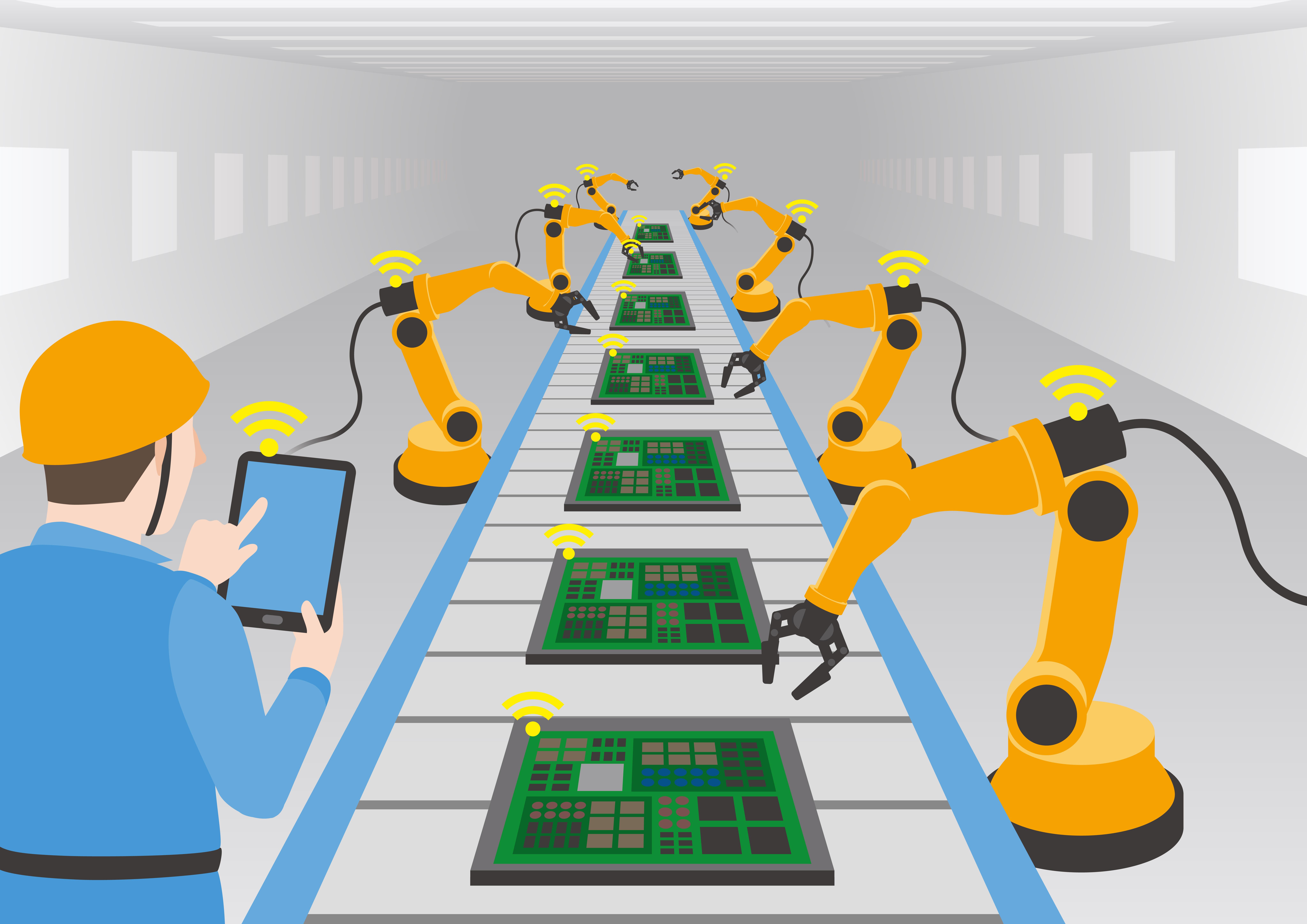 Mensch Roboter Kollaboration